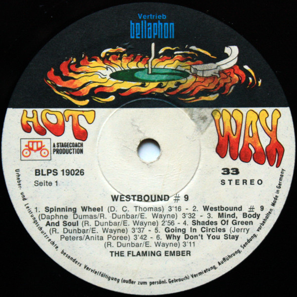 Flaming Ember Westbound #9