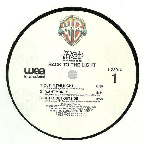 Serge Ponsar Back To The Light