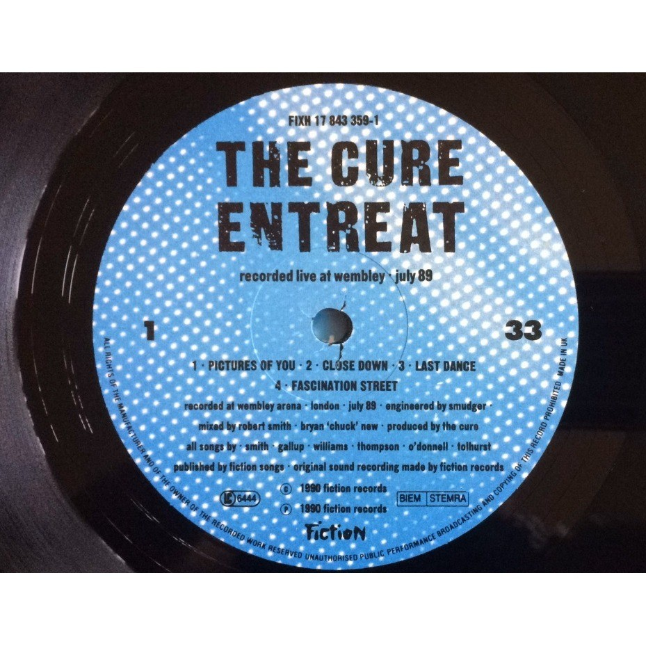 The Cure Entreat