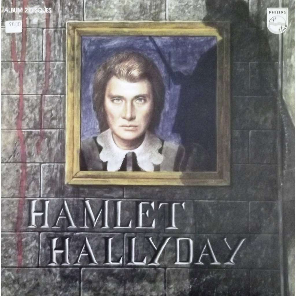 hamlet poster de johnny hallyday double 33t gatefold chez vinyl59 ref 118687621. Black Bedroom Furniture Sets. Home Design Ideas