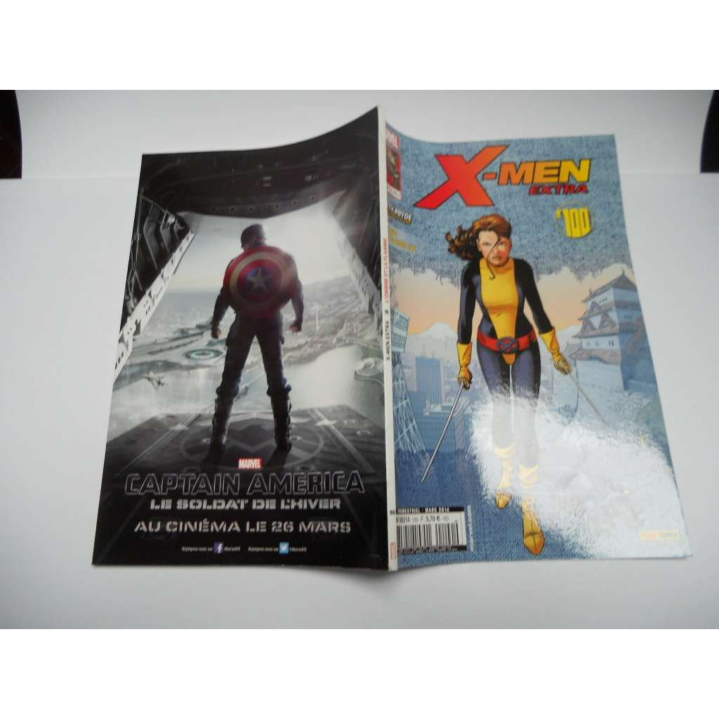 X-Men Extra 100 Kitty Pryde - L'ombre Et La Flamme X-Men Extra 100 Kitty Pryde - L'ombre Et La Flamme