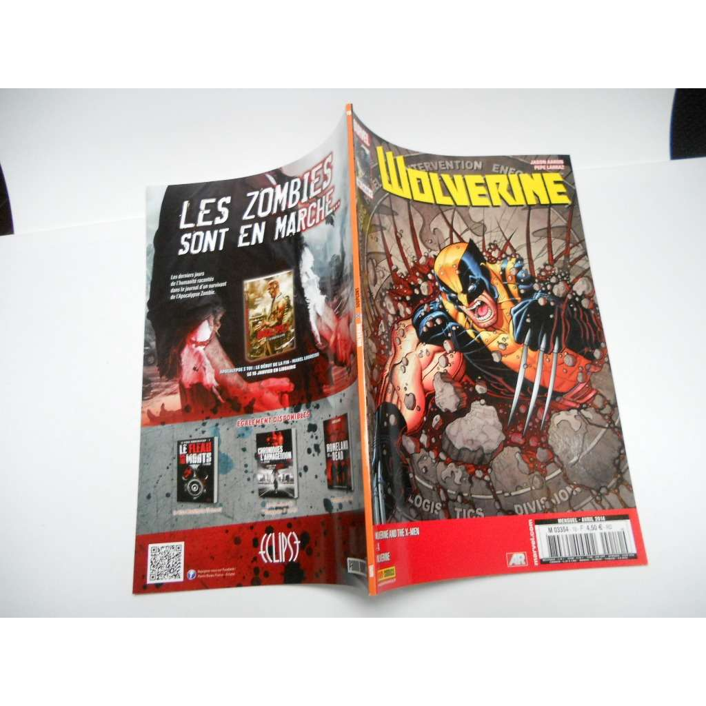 Wolverine N° 10 :  Soupçons  ( Wolverine And The Wolverine N° 10 :  Soupçons  ( Wolverine And The X-Men / A+X / Wolverine)///V4