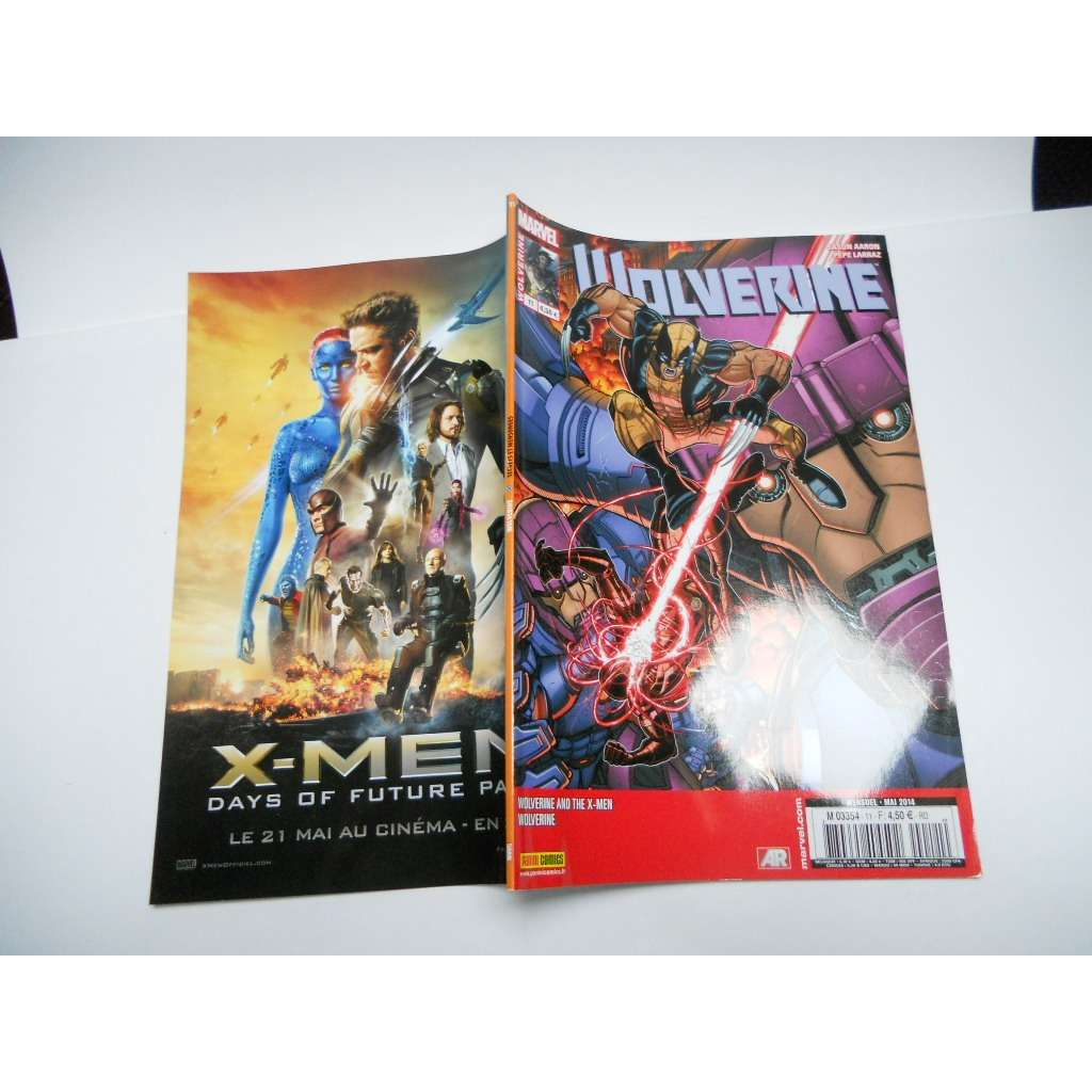 Wolverine N° 11 ( Mai 2014 ) :  Secrets Et Menson Wolverine N° 11 ( Mai 2014 ) :  Secrets Et Mensonges  ( Wolverine + Wolverine And The X-Men )V4