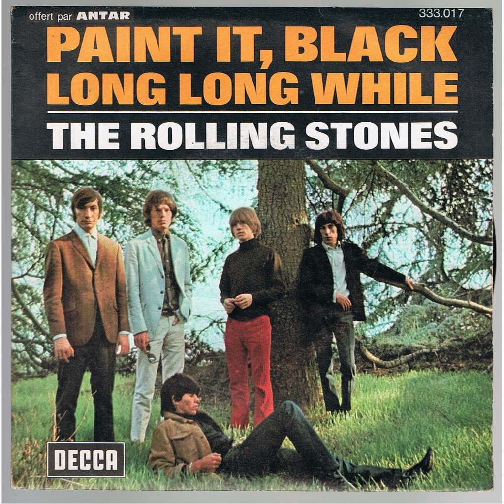 Paint It Black Long Long While By Rolling Stones 7inch