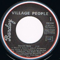 VILLAGE PEOPLE MACHO MAN / JUST A GIGOLO