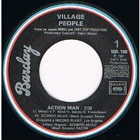 VILLAGE PEOPLE ACTION MAN / JUNGLE CITY