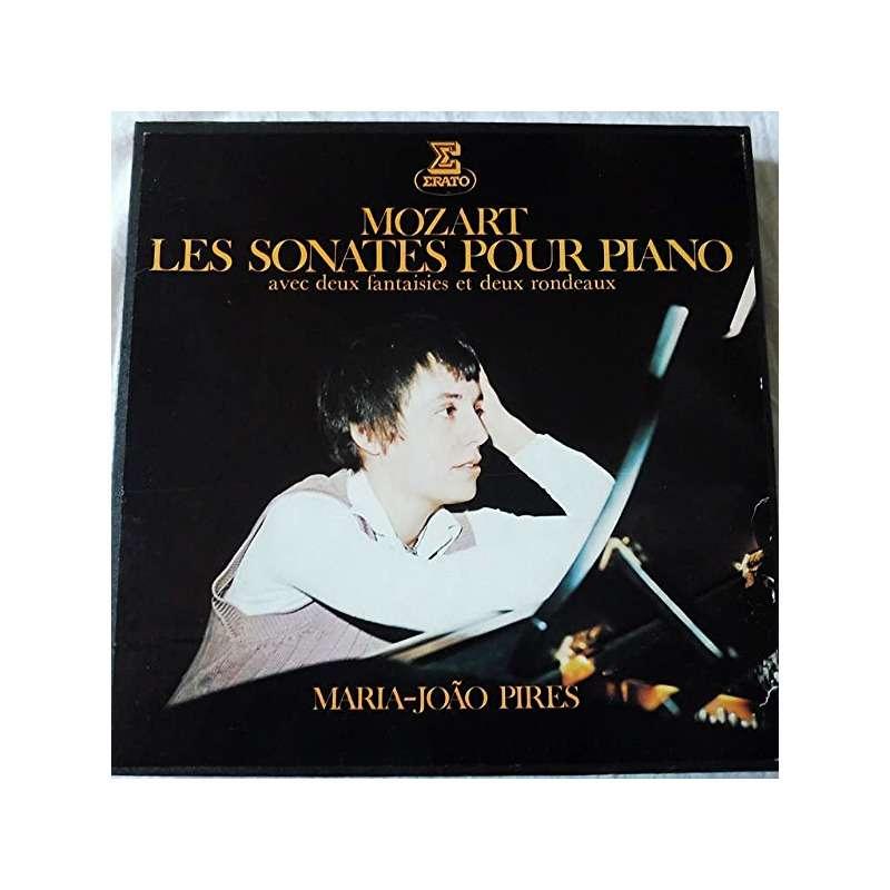 Maria Joao Pires Mozart : les sonates pour piano avec deux fantaisies et deux rondeaux - ( 8 lp set box