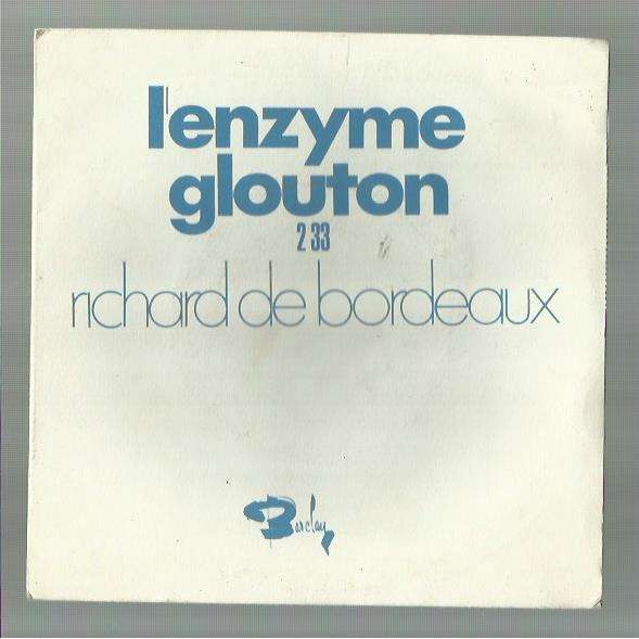 Richard de Bordeaux L'enzyme glouton / Les parents d'Hortense
