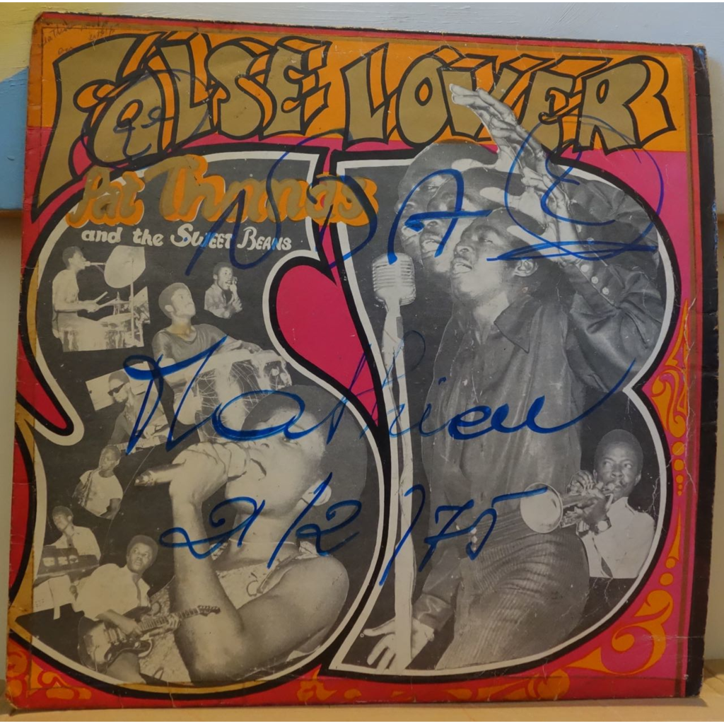PAT THOMAS and the SWEET BEANS False lover