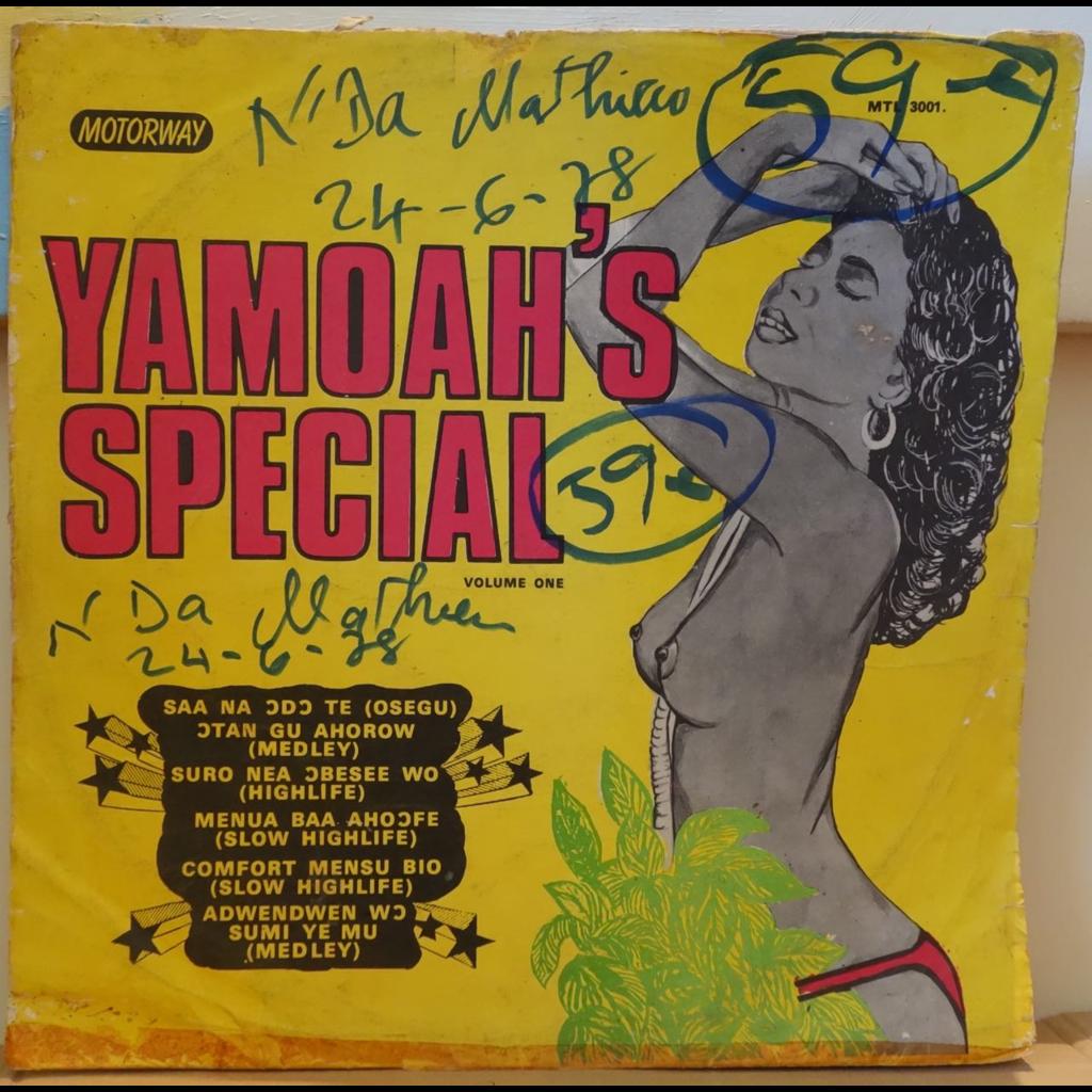 YAMOAH'S BAND Yamoah's special