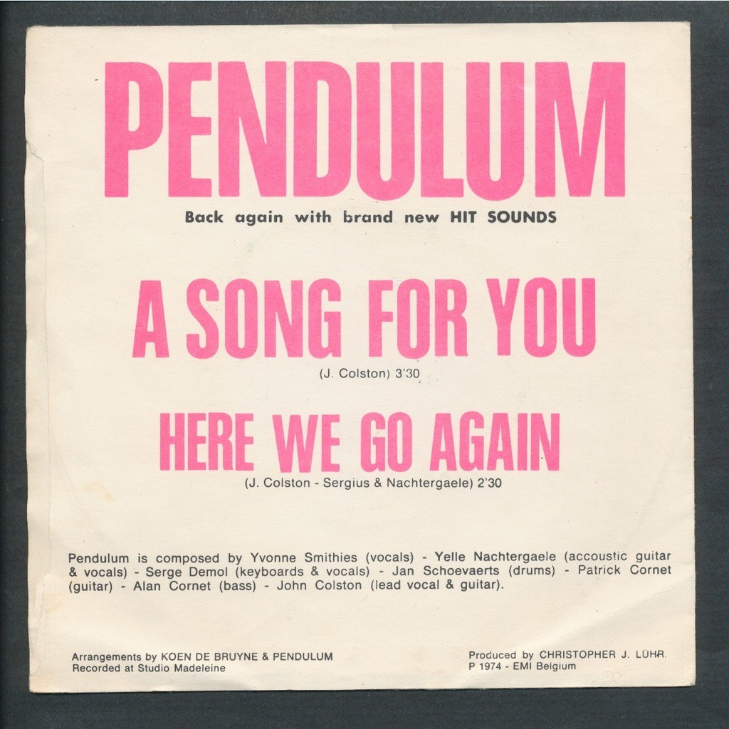 PENDULUM a song for you - here we go again