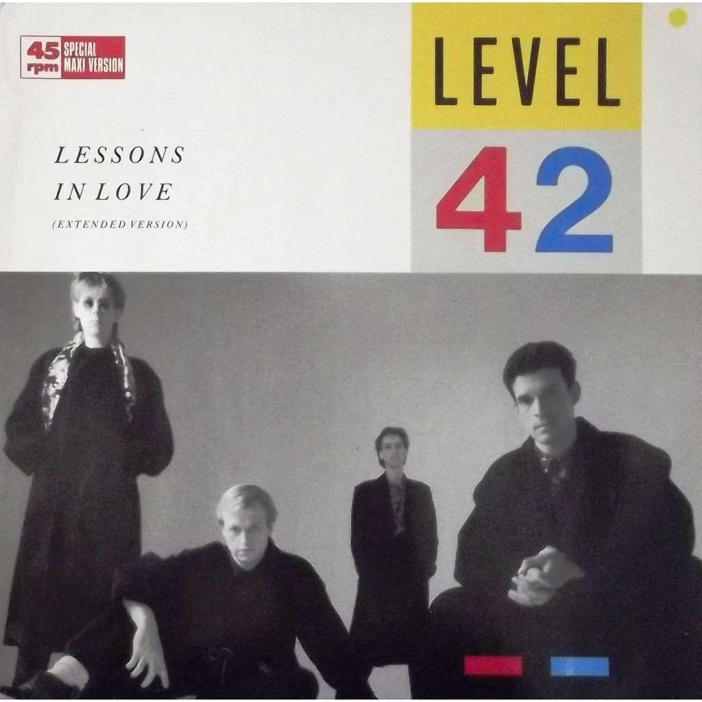 Lessons In Love By Level 42 12inch With Vinyl59 Ref