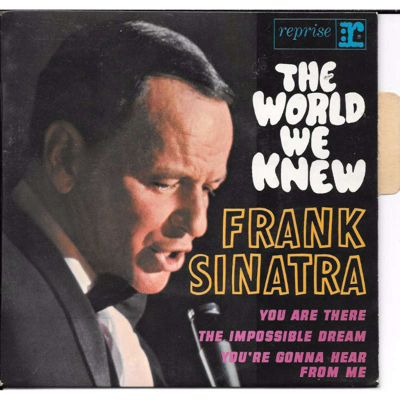 frank sinatra the world we knew ( languette )