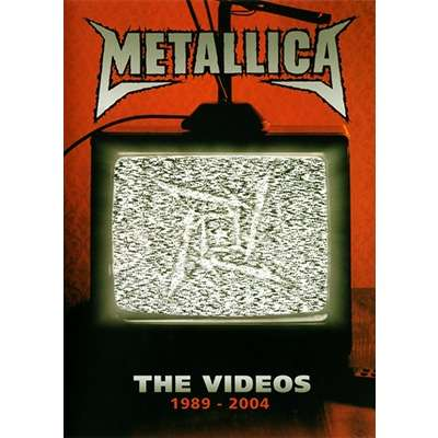 METALLICA The Videos 1989-2004