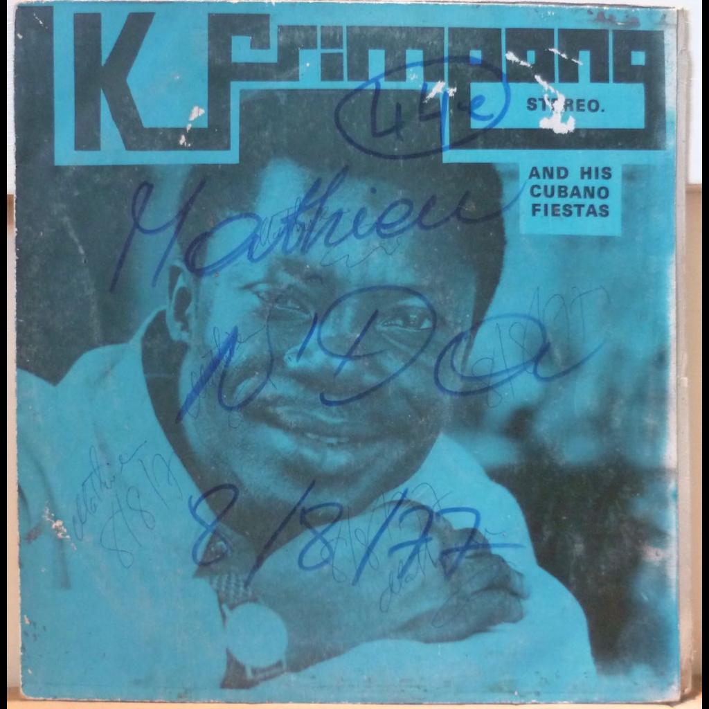 K FRIMPONG & his CUBANO FIESTAS S/T - Kyenkyen bi adi m'awu