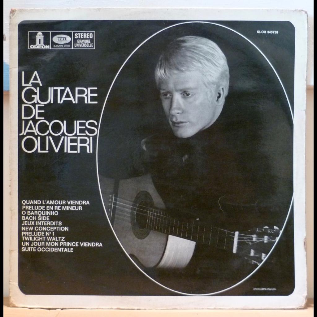 JACQUES OLIVIERI La guitare de Jacques Olivieri