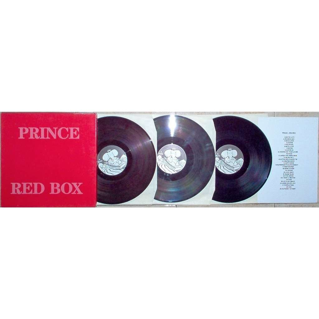 b22d29c495b82 Prince Red Box (Recorded Live in Dortmund West Germany 1988) (ltd marbled  color