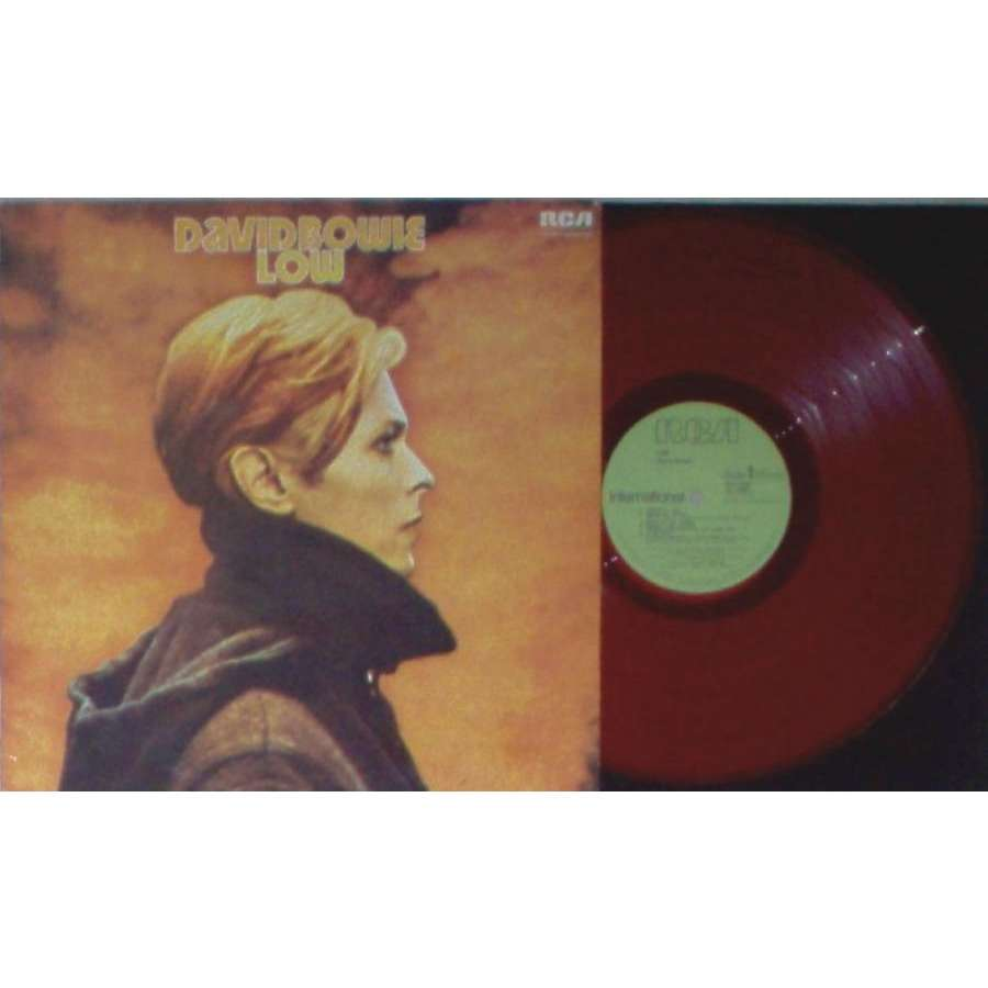 David Bowie low (uk 1977 extremely ltd 11-trk lp red vinyl on rca international lbl full ps)