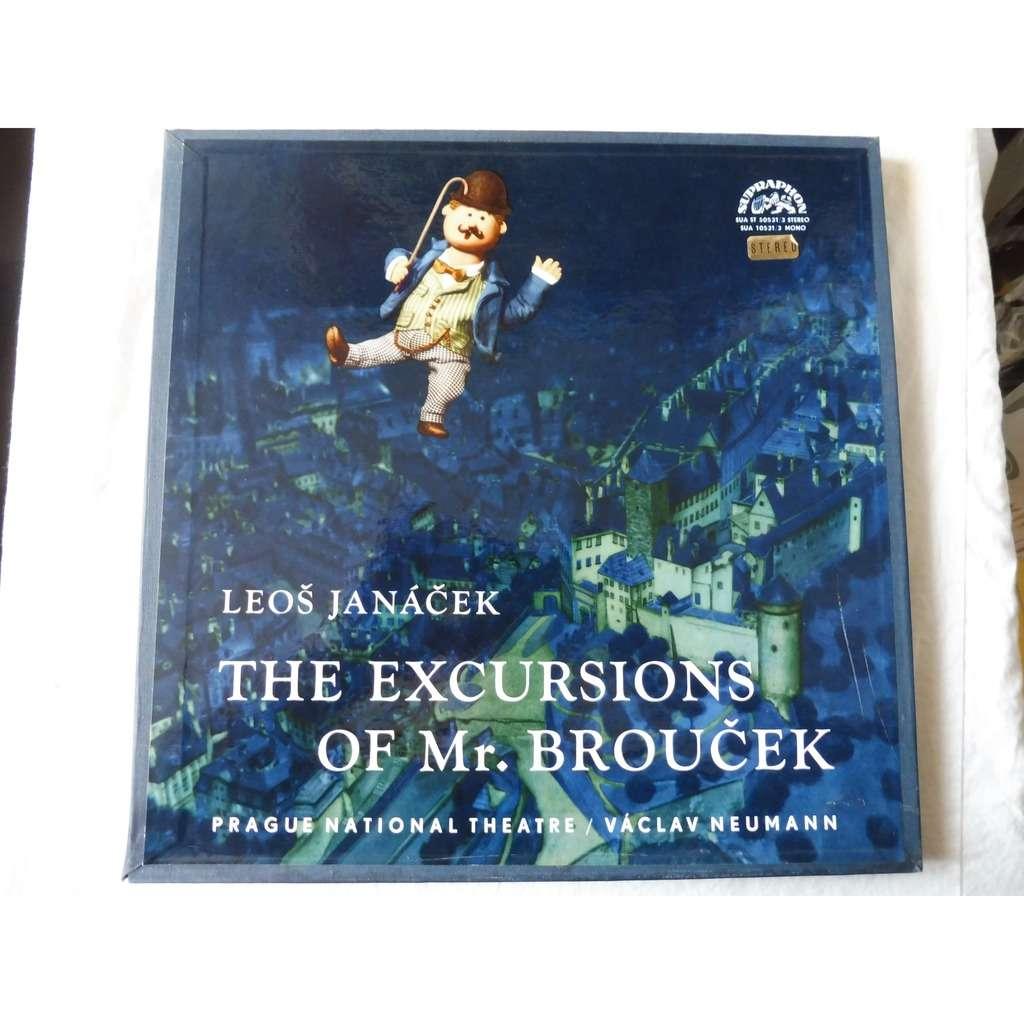 prague national theatre dir Vaclav Neumann Janacek : THE EXCURSIONS OF MR BROUCEK - ( 3 lp set box stéréo mint condition )