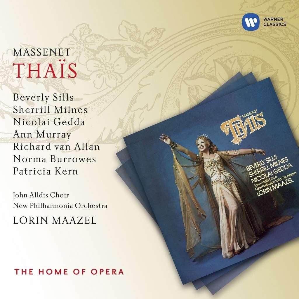 Massenet, Jules Thaïs / New Philharmonia Orch , Maazel, Sills, Milnes,  Gedda, Murray, Van Allen, Connors, Burrowes