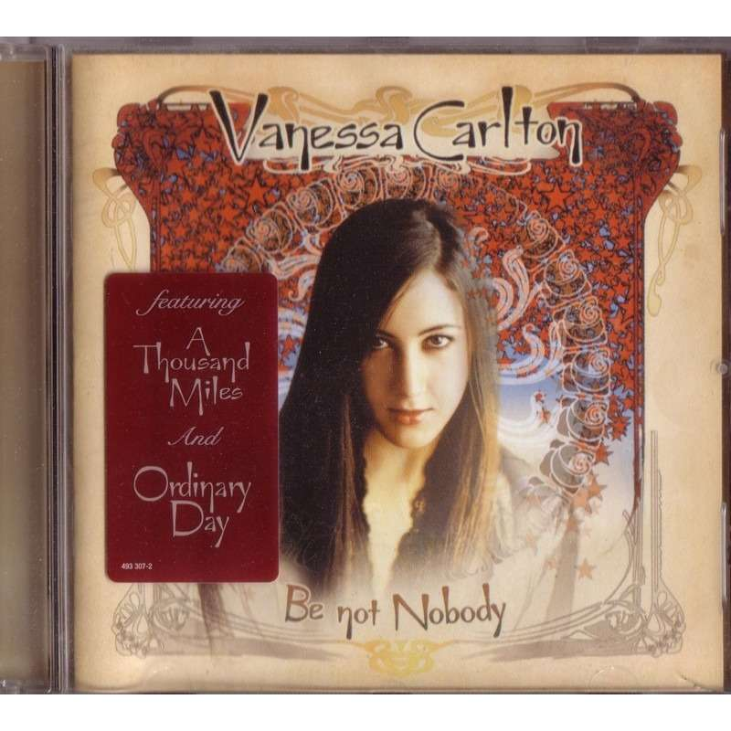 Be Not Nobody By Vanessa Carlton Cd With Diska51 Ref