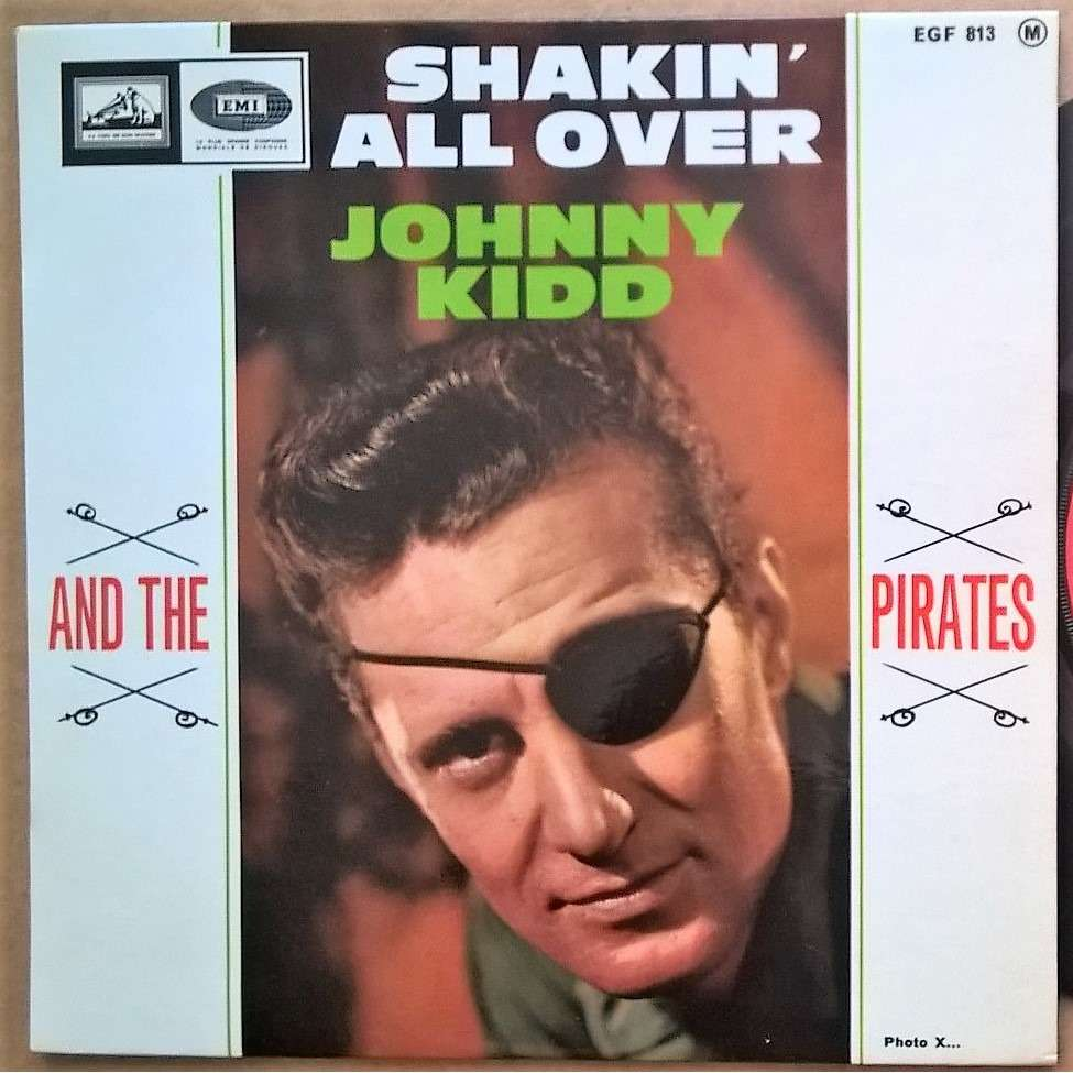 johnny kidd shakin' all over / whole lotta woman / shop around / restless