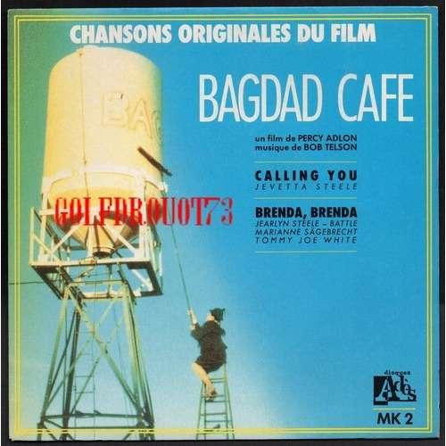 BOB TELSON . JEVETTA STEELE CALLING YOU - BRENDA BRENDA .. BOF / OST . BAGDAD CAFE .. POCHETTE SEULE . SLEEVE ONLY . NO RECORD