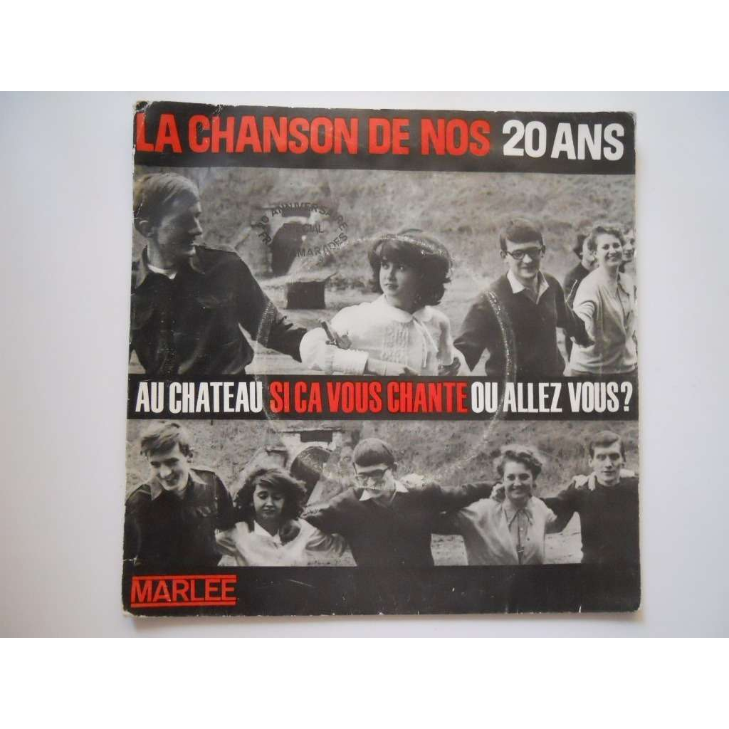 Jean NATY-BOYER La chanson de nos 20 ans (original French press - 1964 - Gatefold sleeve - Complet with inserts)