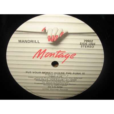 MANDRILL put your money where the funk is