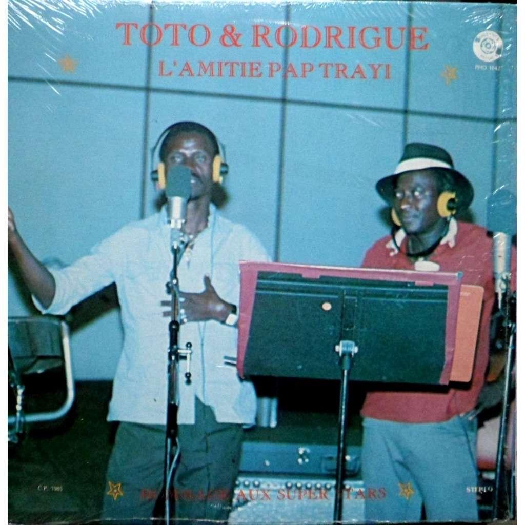 TOTO & RODRIGUE L'AMITIE PAP TRAYI - HOMMAGE AUX SUPER STARS
