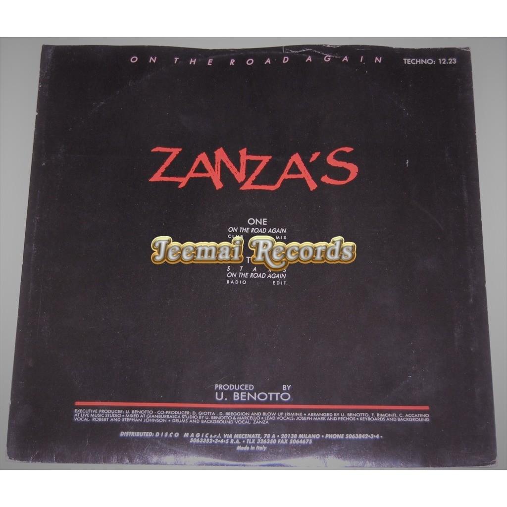 Zanza's On The Road Again