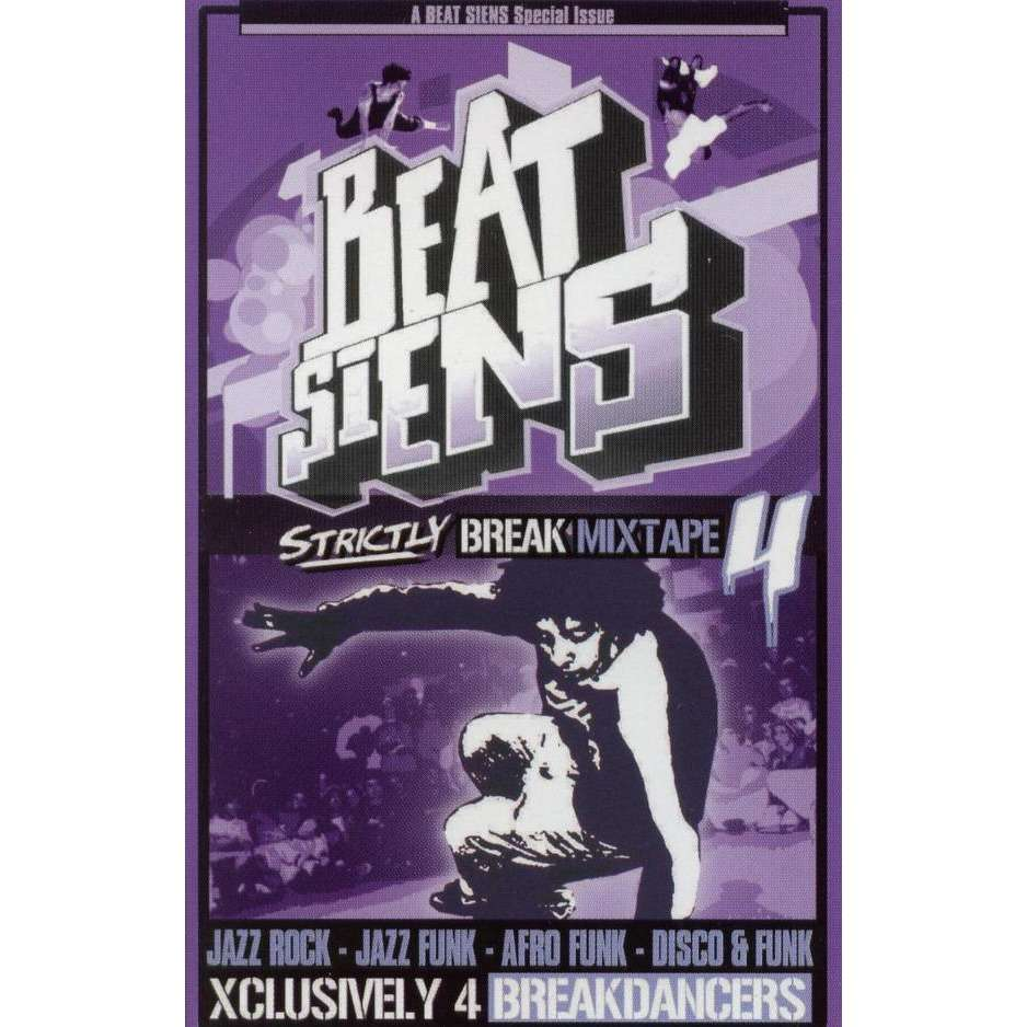 DJ Siens Break Mictape 4. Rééditon CD 2003 + Bonus Tracks