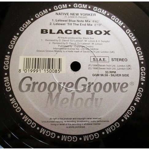 Black Box Native New Yorker (SILVER EDITION)