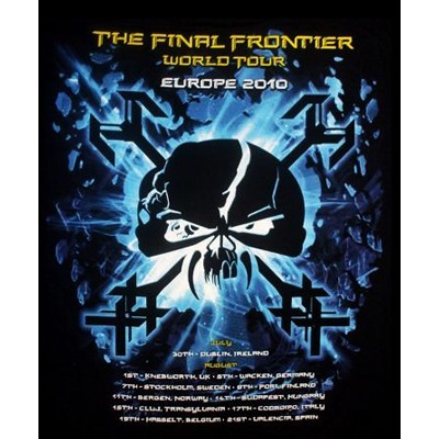 IRON MAIDEN The Final Frontier Tour