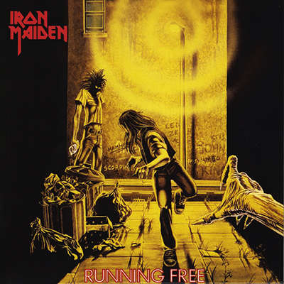 IRON MAIDEN Running Free