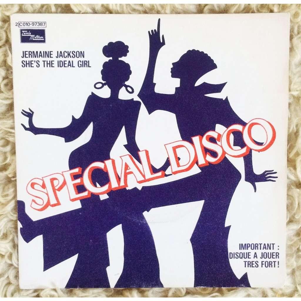 Jermaine Jackson She's The Ideal Girl / I'm So Glad You Chose Me