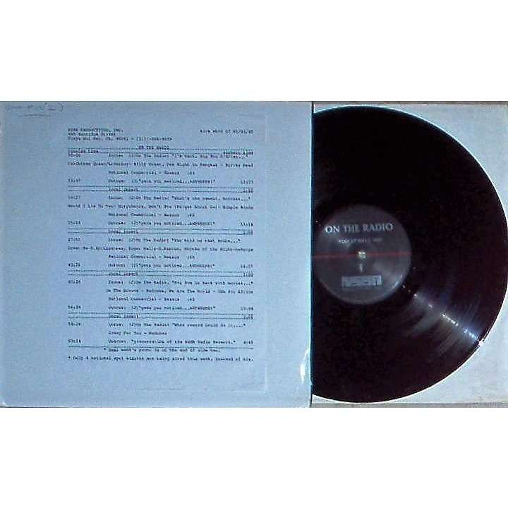 Tears For Fears On The radio Week Of 07/26/85 (usa 1985 promo 'nsba' lp brown wax radio show + cues!!)