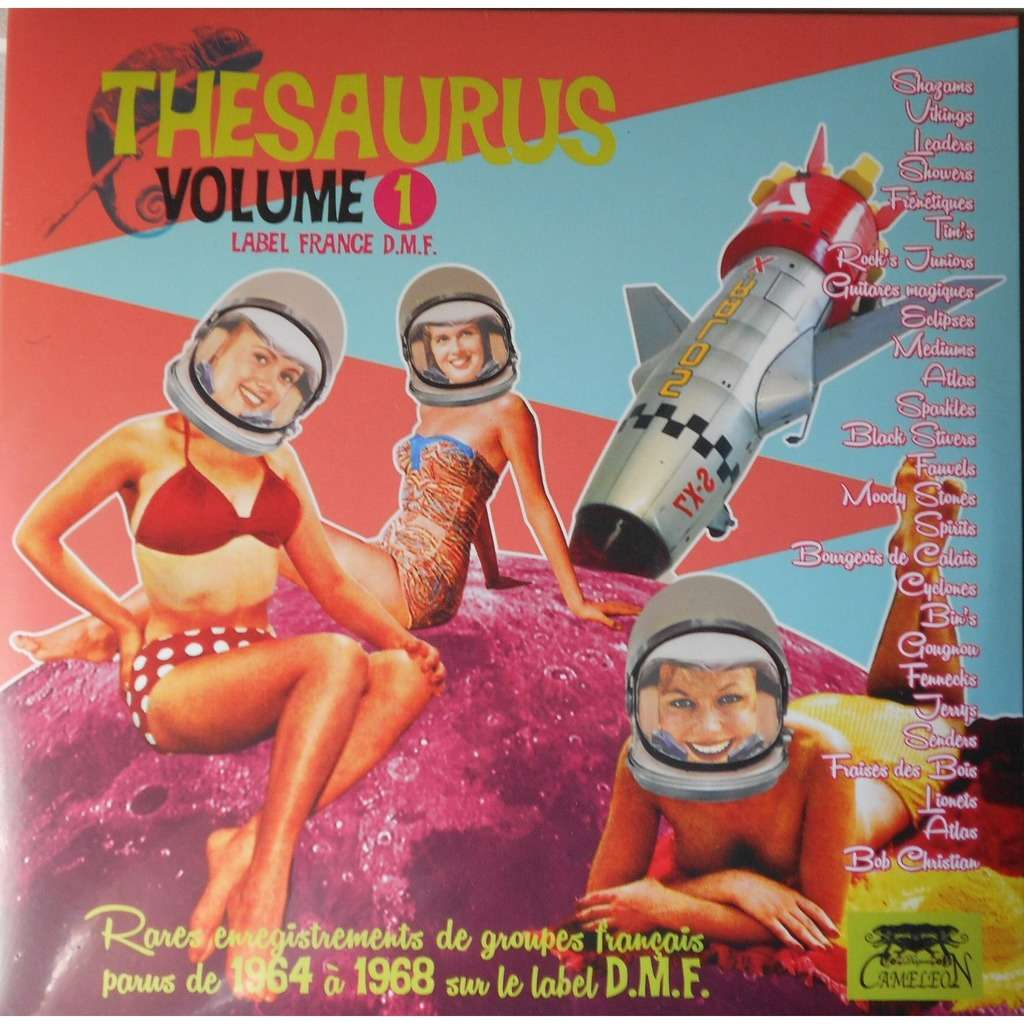 divers (various artists) Thesaurus Vol.1 Label France D.M.F.
