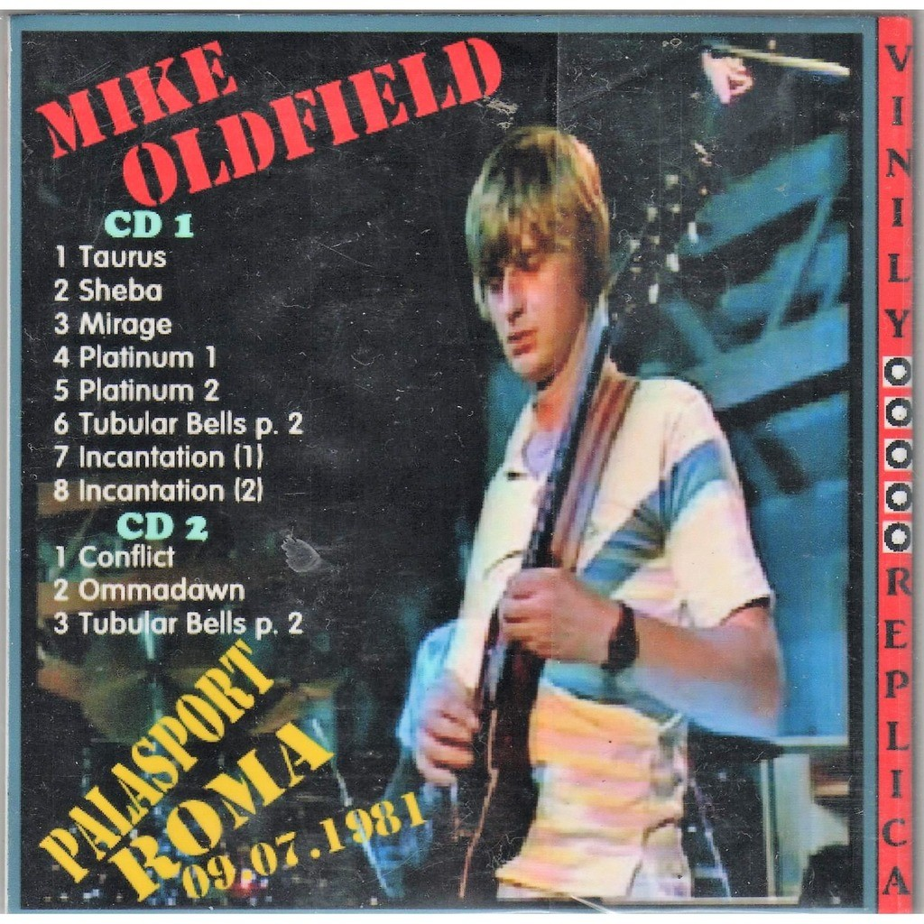 Mike Oldfield Live At 'Palasport' (Roma 09.07.1981)