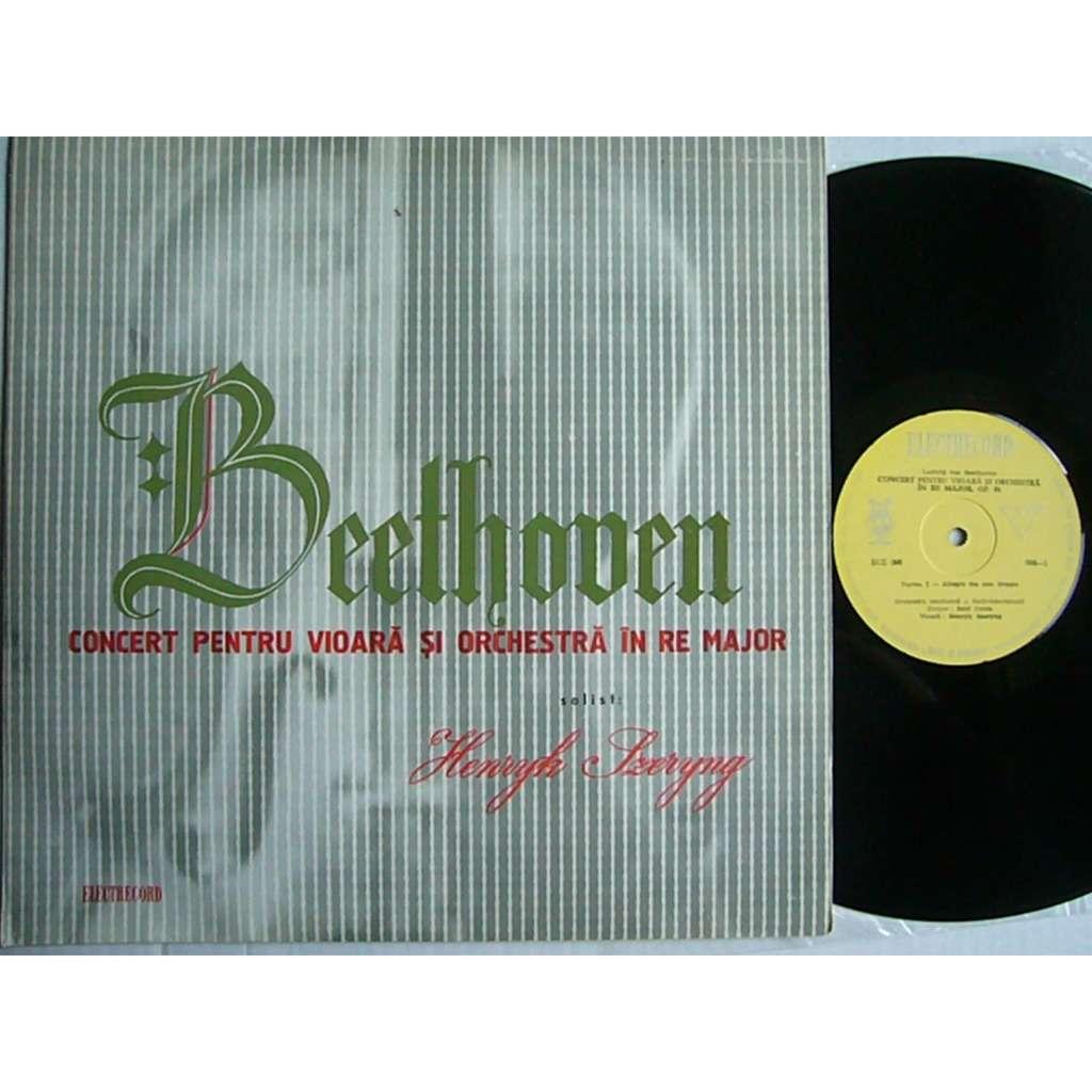 Henryk Szeryng Beethoven Violin Concerto CONTA Rec.1961 ELECTRECORD ECE-096 MINT