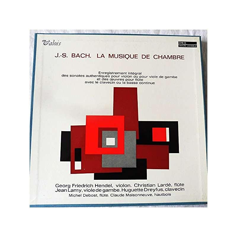 Hendel, Lardé, Lamy, Dreyfus, Debost, Maisonneuve J.S. Bach : la musique de chambre - ( very rare 5 lp set box stéréo near mint condition )
