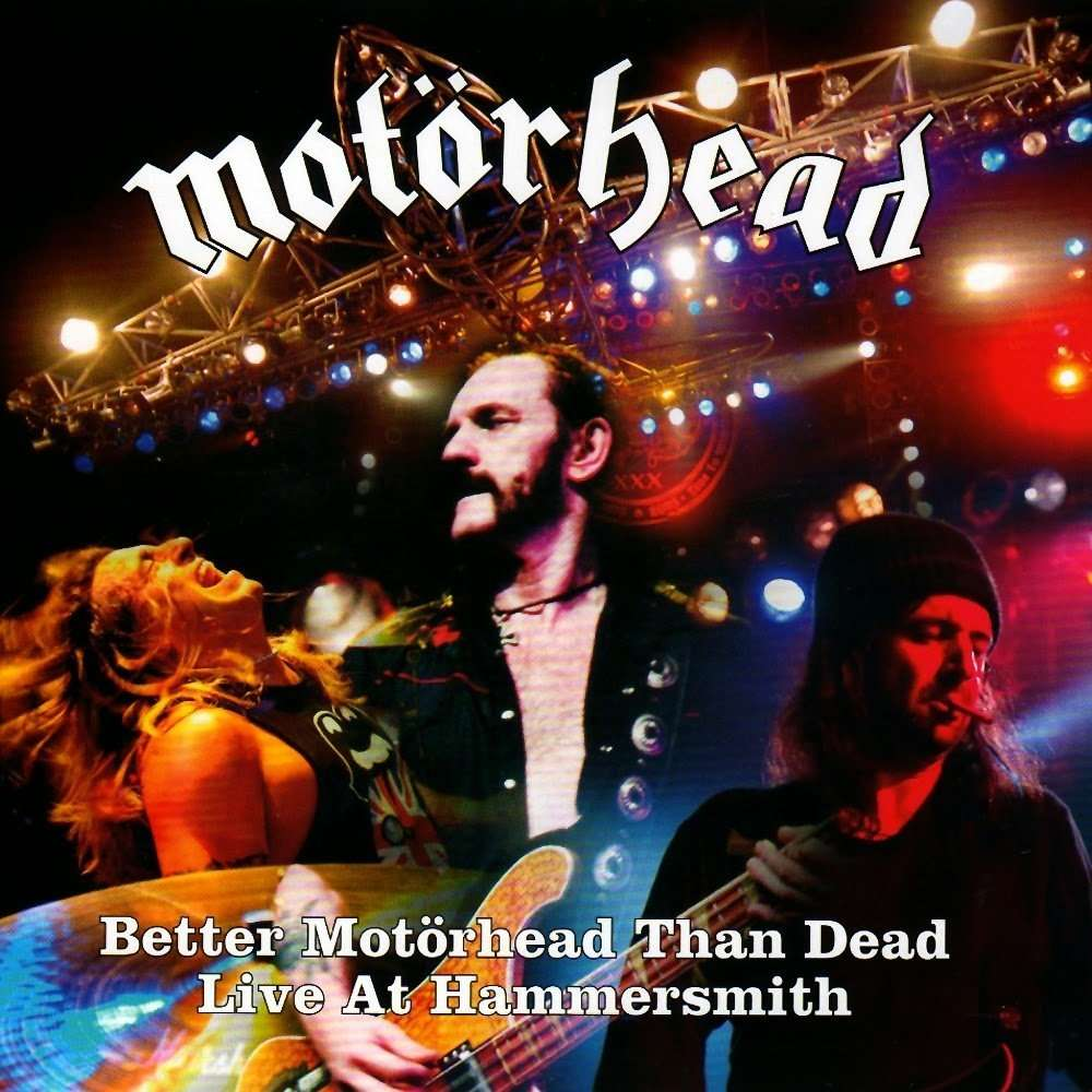 Motörhead Better Motörhead Than Dead - Live At Hammersmith (4xlp) Ltd Edit Gatefold Poch -Ger