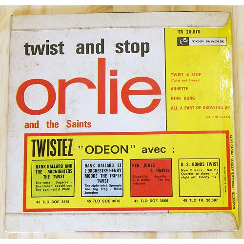 orlie and the saints - Twist & stop - annette - king kong - all a part of growing up