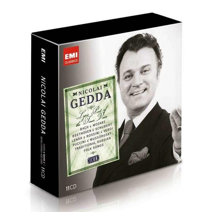 Bach / Schubert / Mozert / Wagner / Flotow / Gluck Icon: Nicolai Gedda - Lyric Poet of the Tenor Voice: Callas, Angeles, Freni, Mesplé, Moore, Gardelli
