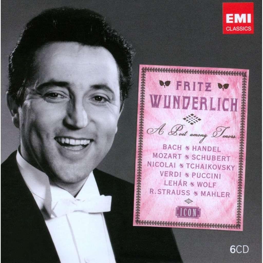 Finck / Isaac / Krieger / Flotow / Kienzl / Mozart Icon - Fritz Wunderlich - A Poet among Tenors: Grümmer, Lorengar, Muszely, Mathis, Otto, Prey, Kempe
