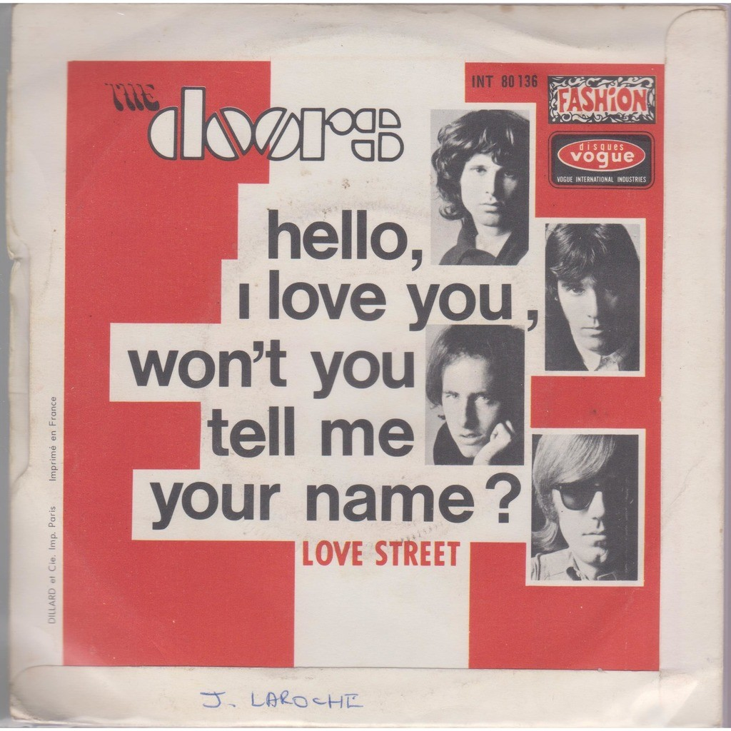 Hello, i love you / love stree...