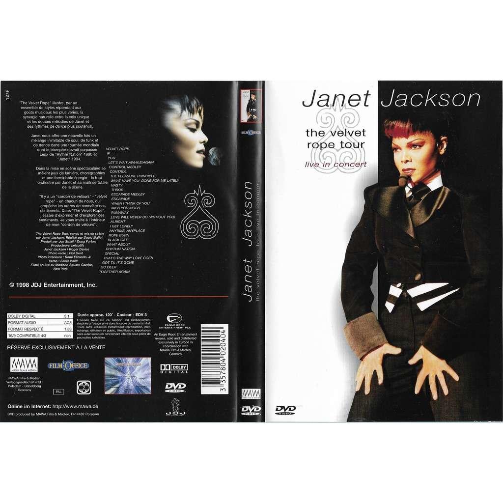 Jackson, Janet The Velvet Rope Tour Live In Concert