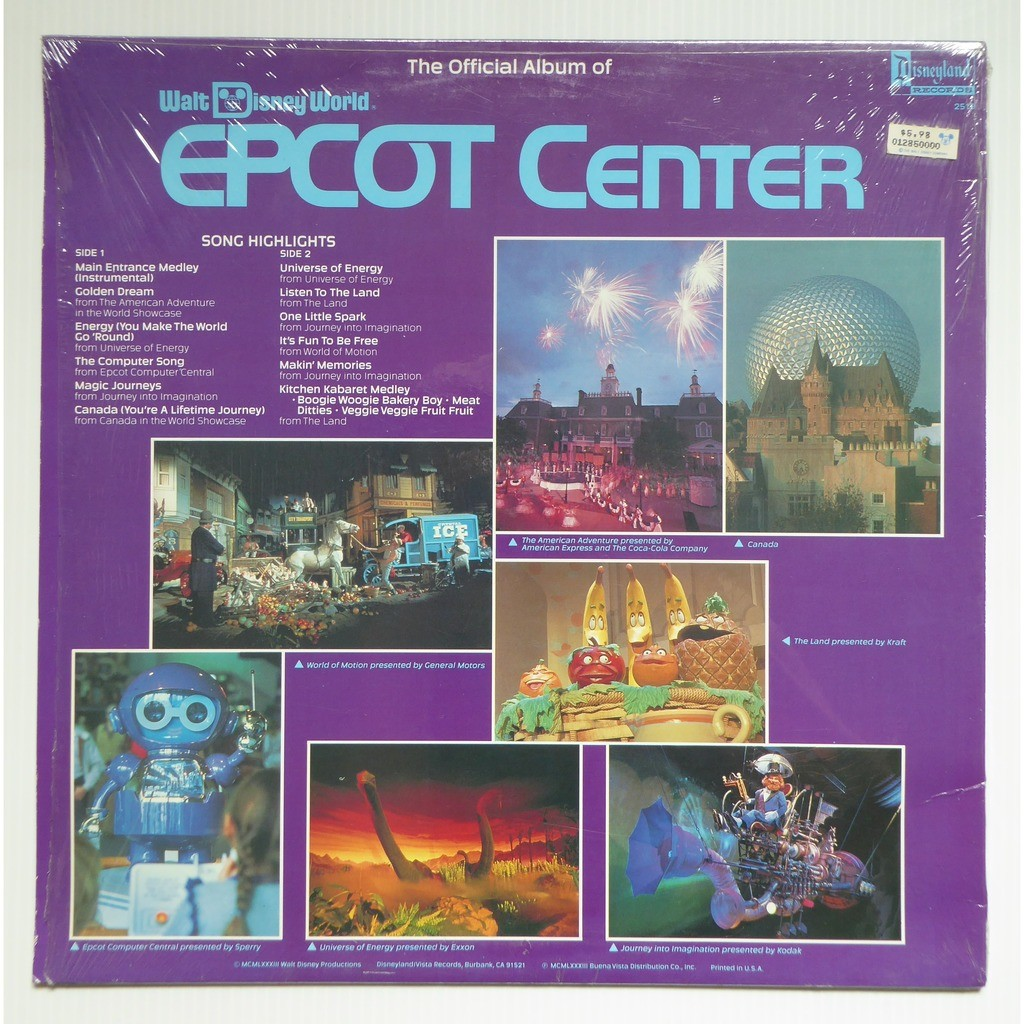Various The Official Album Of Walt Disney World