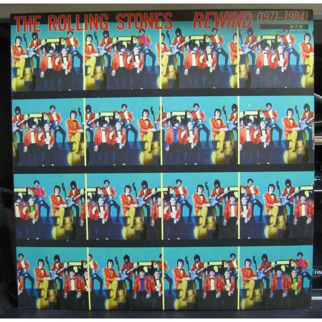 Rewind 1971 1984 By Rolling Stones Lp With Jappress