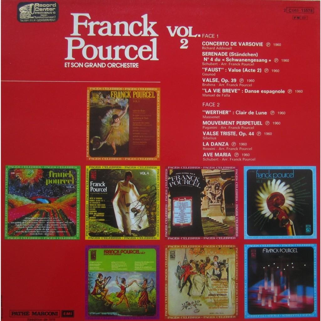 franck pourcel pages célèbres vol.2